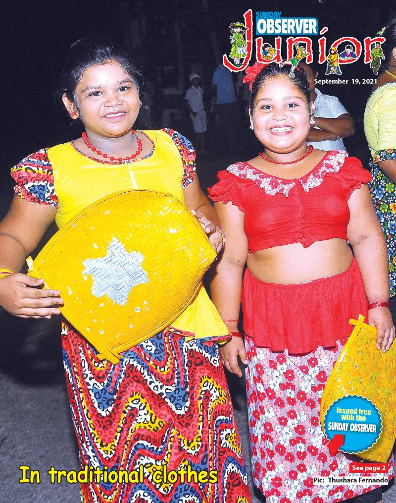 In traditional clothes