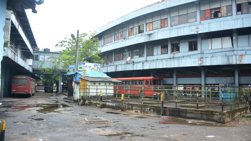 Pettah Central Bus stand