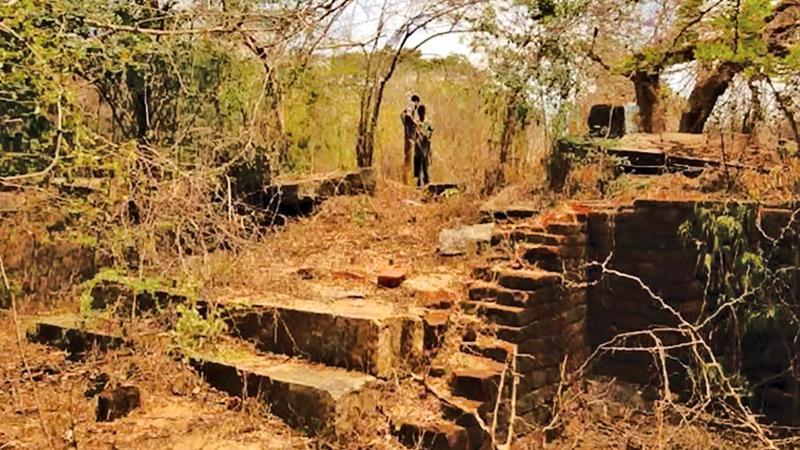 The Veli Vehera Archaeological site hidden in the Wilpattu National Park