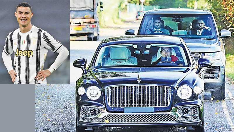 Ronaldo and his supercars