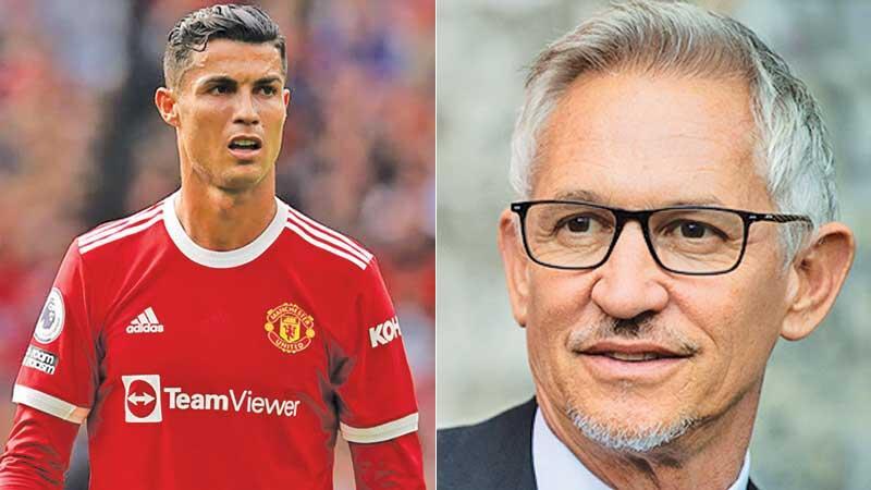 Cristiano Ronaldo-Gary  Lineker